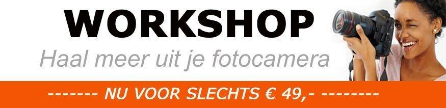workshop cursus fotografie camera