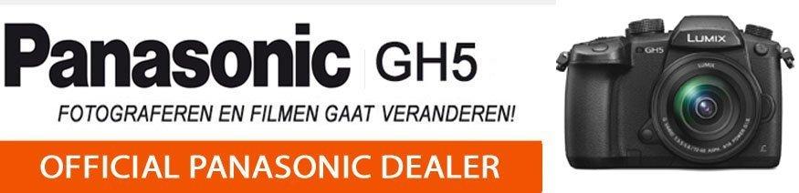 Pansonic GH5 systeemcamera
