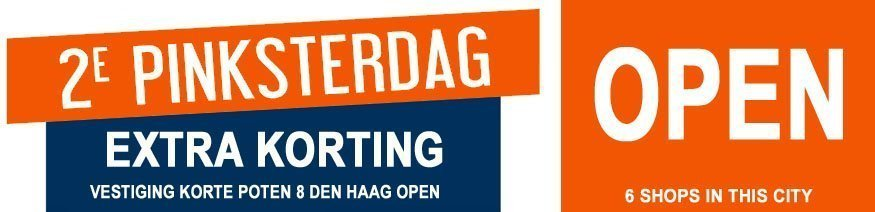NEBO Den Haag is 2e Pinksterdag geopend