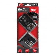 Hahnel Afstandbedieningen Viper TTL SET Canon (receiver +transm.)