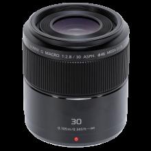 Panasonic 30/2.8 G zwart