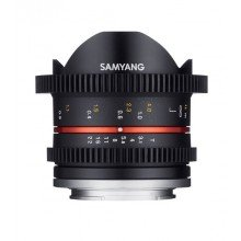 Samyang 8mm T3.1 cine UMC fisheye II Canon M