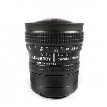 Lensbaby Circular fisheye lens Micro Four Thirds
