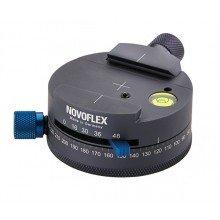 Novoflex Panorama kop met Q-mount; 360° mark., 16/30/36/48 stappen
