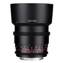 Samyang 85mm T1.5 VDSLR AS IF UMC II Canon