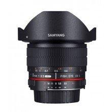 Samyang 8mm F3.5 UMC fisheye CSII Canon