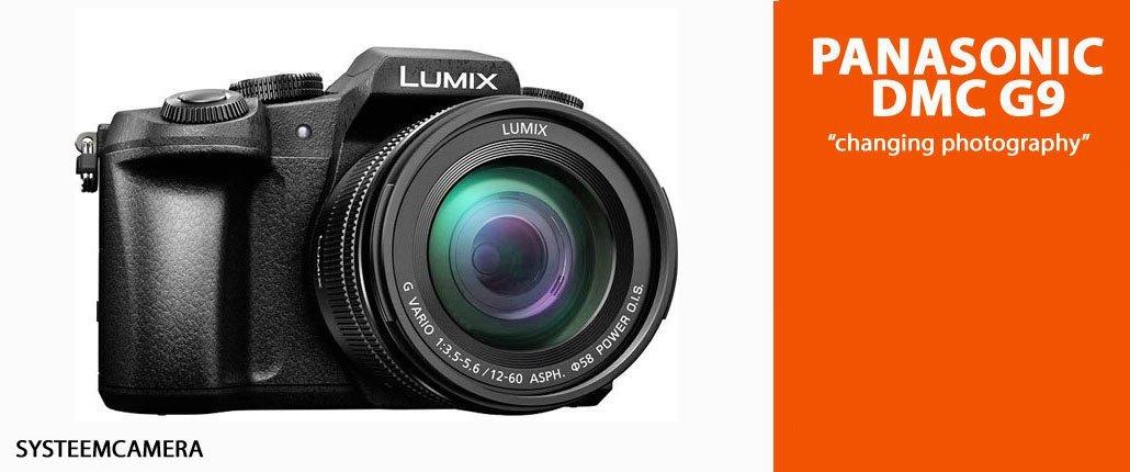 Panasonic G9 systeemcamera kopen