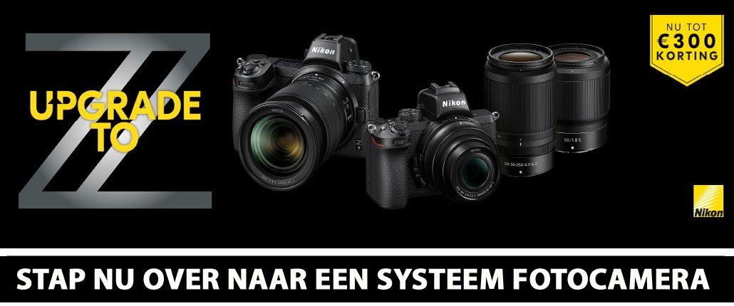 Nikon Z serie foto systeemcamera
