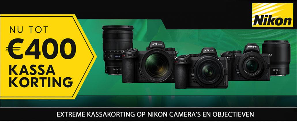 Nikon Z6 systeemcamera