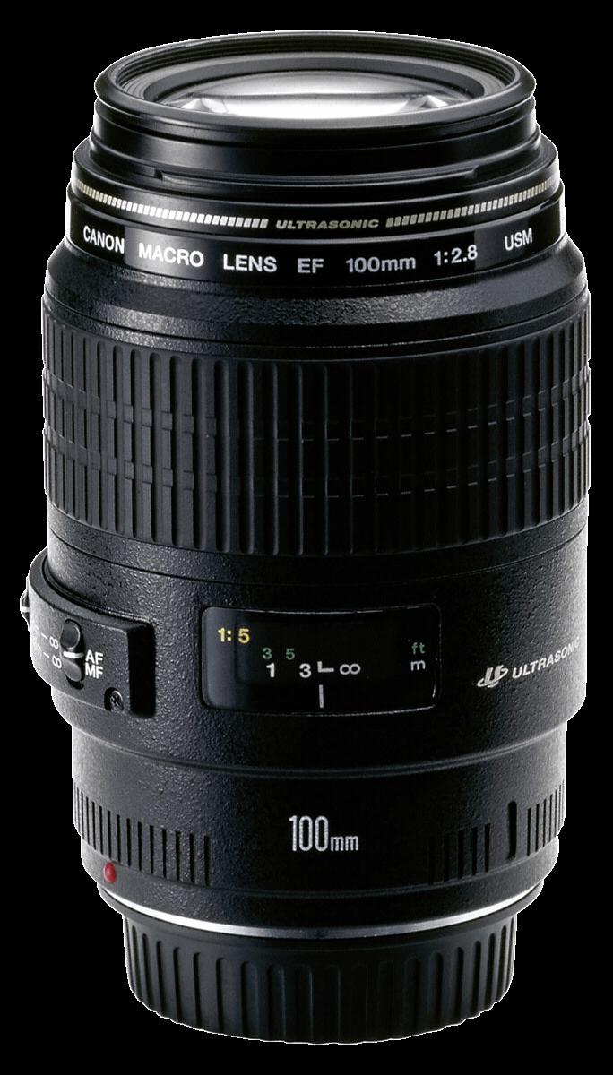 Afbeelding van Canon EF 100mm f/2.8 Macro USM objectief