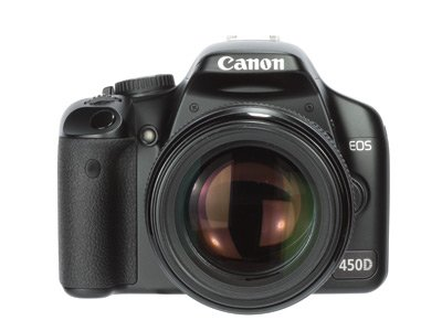 Afbeelding van Canon 450D + 18 200 Occasion