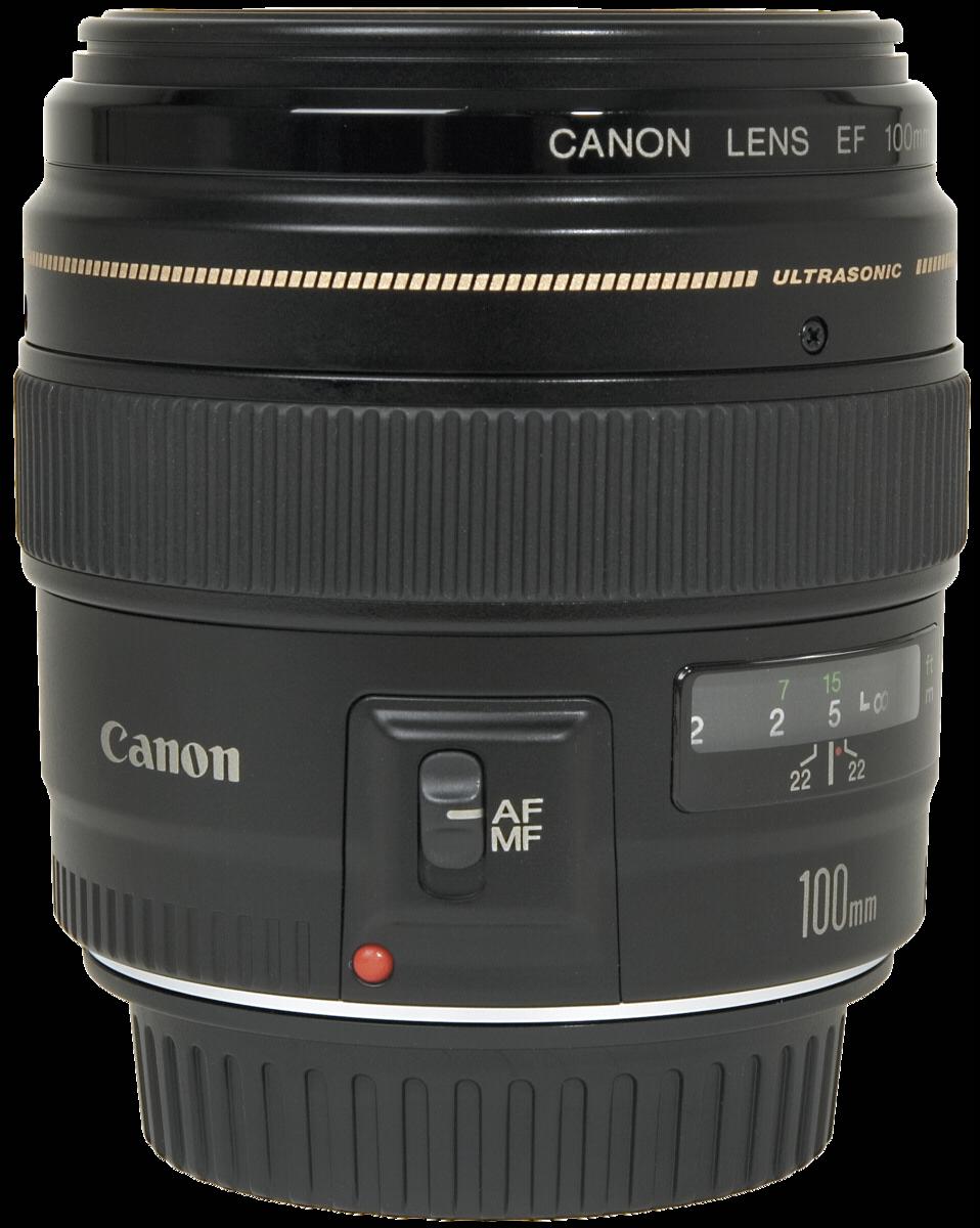 Afbeelding van Canon EF 100mm f/2.0 USM objectief