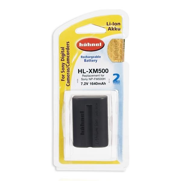 Hahnel HL-XM500 Li-Ion accu (Sony NP-FM500)