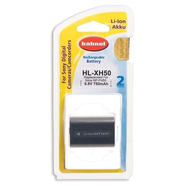 Hahnel HL-XH50 Li-Ion accu (Sony NP-FH50)