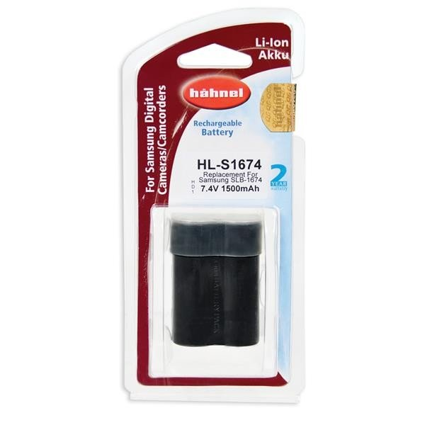 Hahnel HL-S1674 Li-Ion accu (Samsung SLB-1674)