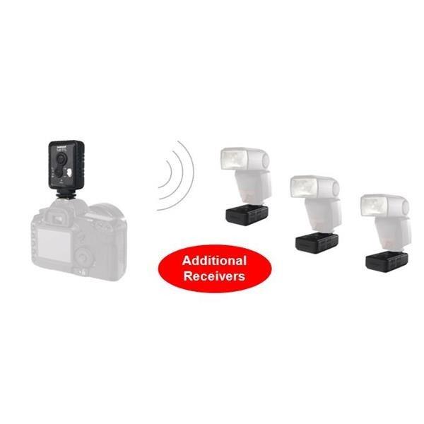 Hahnel Wireless Single Flash Trigger TUFF TTL Nikon Add.Receiver*