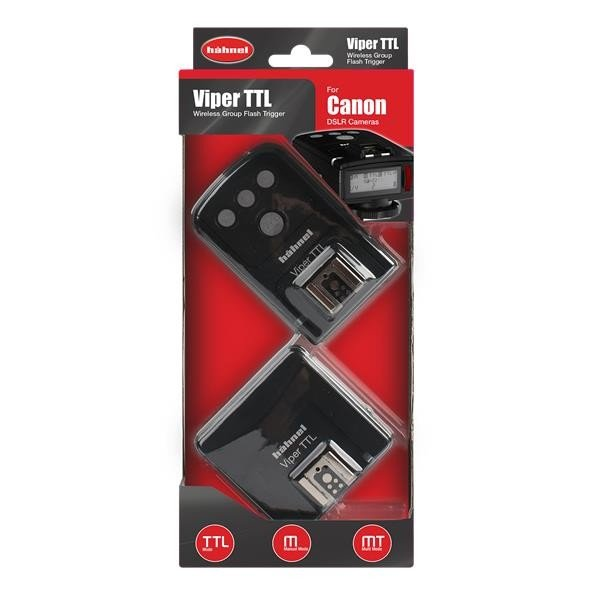 Hahnel Viper TTL Set Canon Receiver en Transmitter