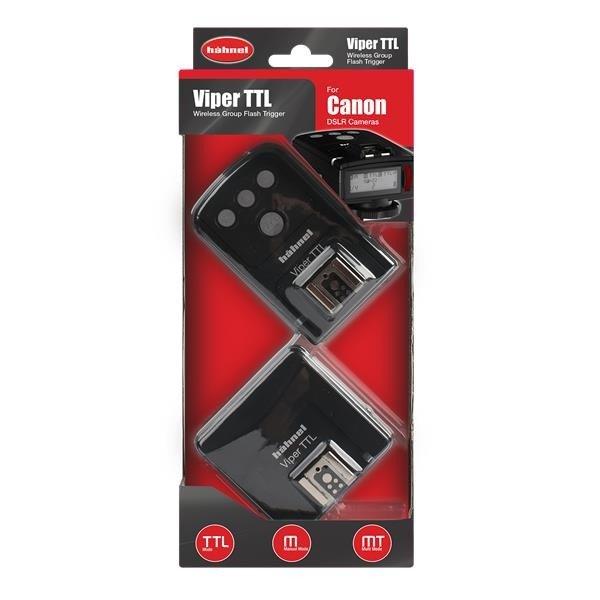 Hahnel Viper TTL Set Nikon Receiver en Transmitter