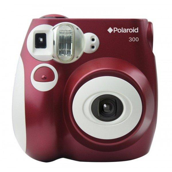Polaroid 300 Camera Rood