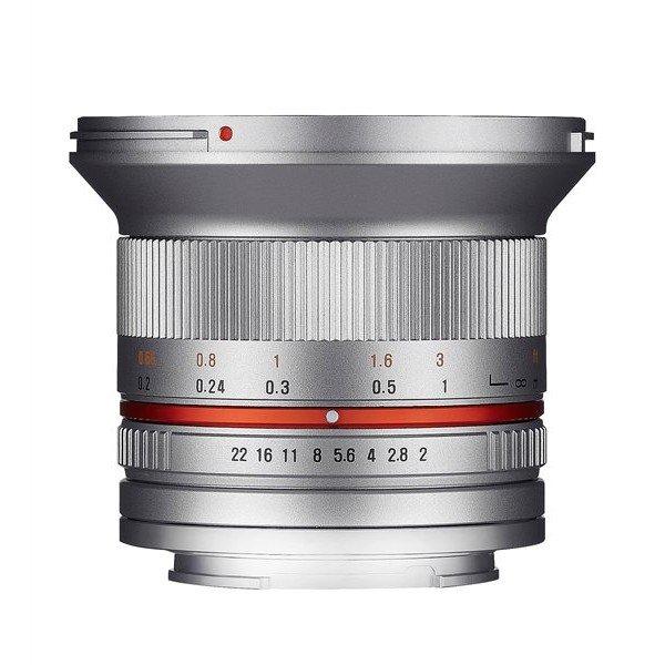Samyang 12mm F2.0 NCS CS Fuji X zilver