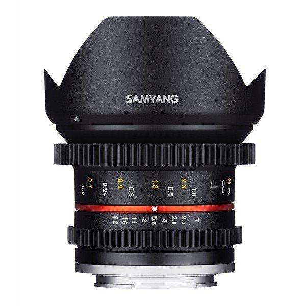 Samyang 12mm T2.2 cine NCS CS Fuji X