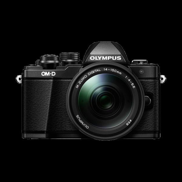 Olympus E-M10 mark II+14/150 zwart