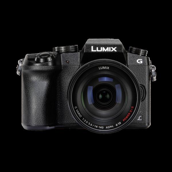 Panasonic Lumix DMC-G7 Zwart + 14-140mm