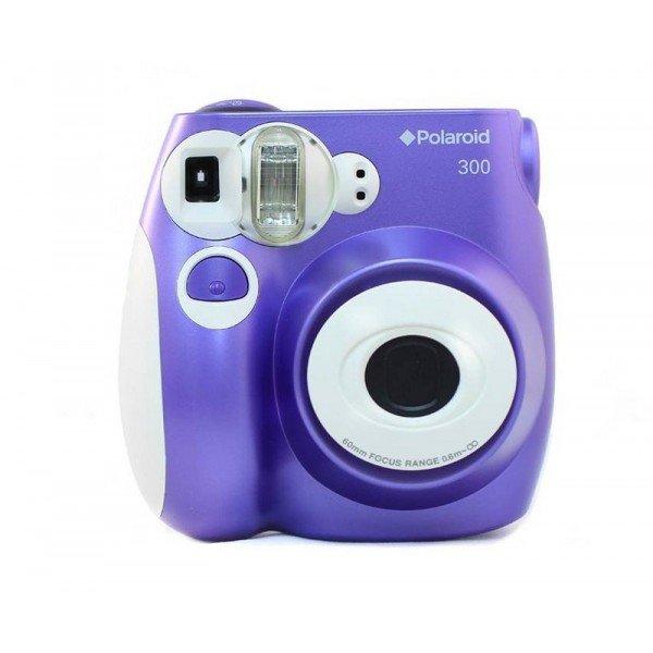 Polaroid 300 camera paars