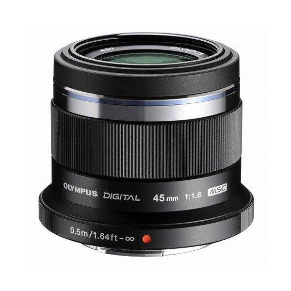 Olympus ET-M 45mmF/1.8 zwart