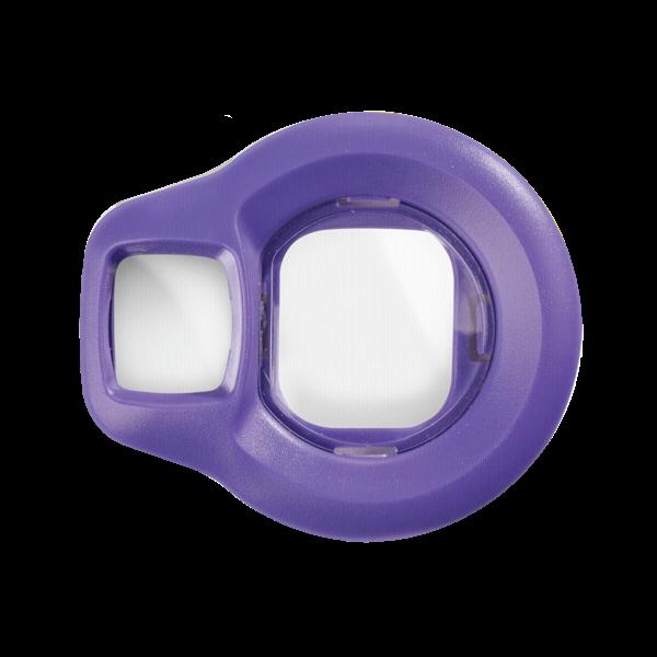 Fujifilm Instax Mini 8 selfie lens paars