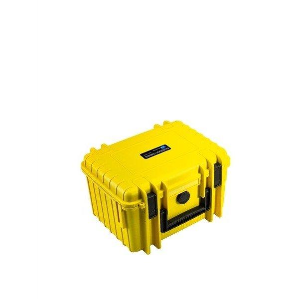 B&W Outdoor.cases Type 2000 geel / leeg