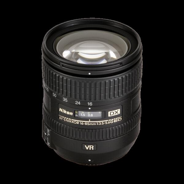 Nikon AF-S 16-85/3.5-5.6G ed vr