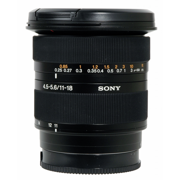 Sony SAL 11-18mm f/5.5-5.6 super wide zoom