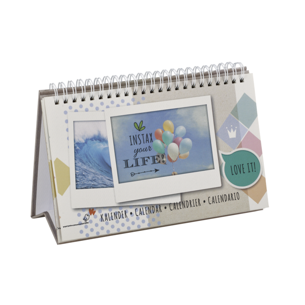 Fujifilm Instax WIDE Kalender kalender voor 13 foto's