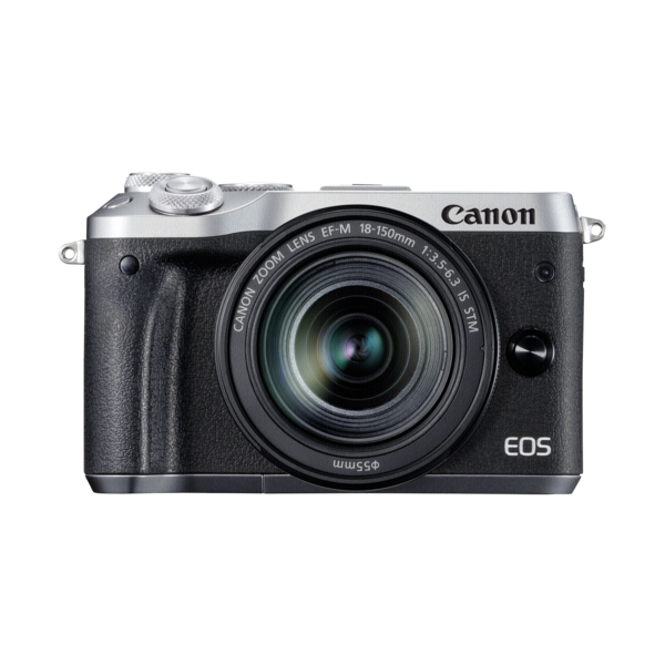 Canon EOS M6+M18-150 IS STM zilver