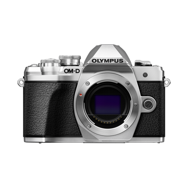 Olympus E-M10 mark III zilver body