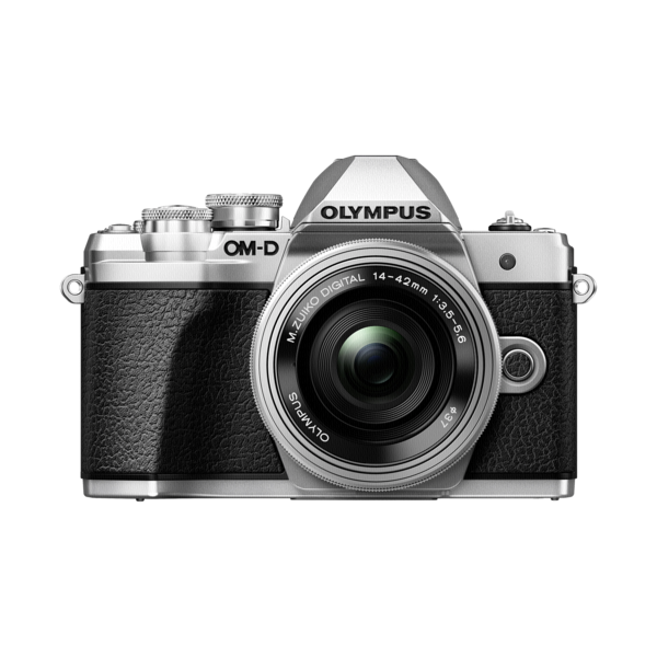 Olympus E-M10 mark III+14/42 zilver