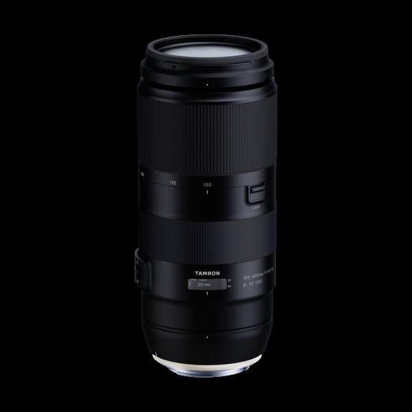 Tamron 100-400/4.5-6.3 Di VC voor Canon
