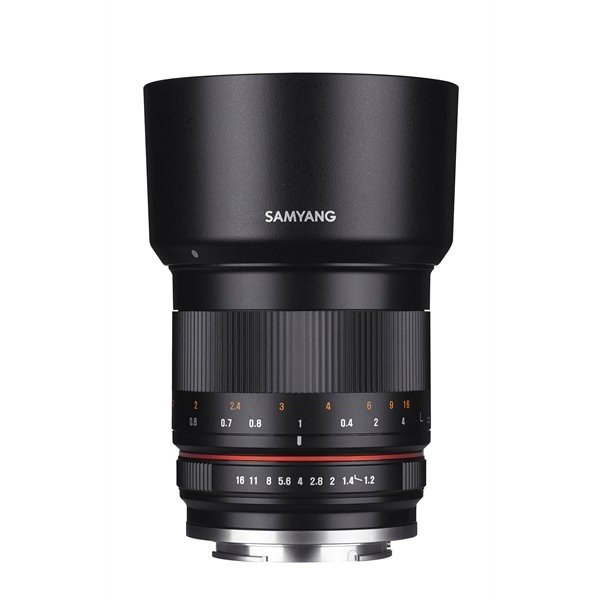 Samyang 50mm F1.2 AS UMC CS MFT zwart