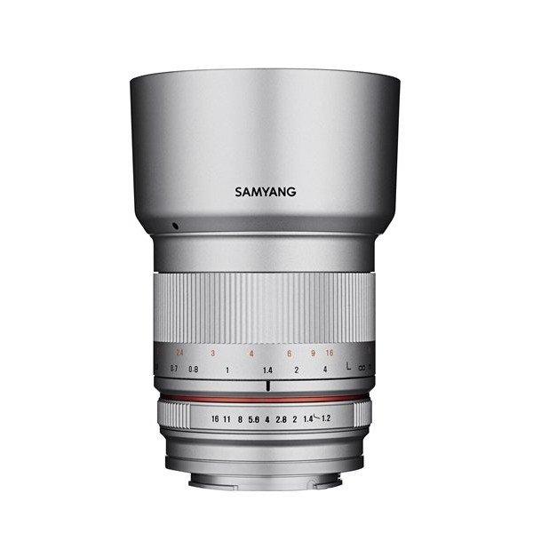 Samyang 50mm F1.2 AS UMC CS Fuji X zilver