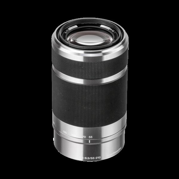 Sony Sel 55-210/4.5-6.3 zilver