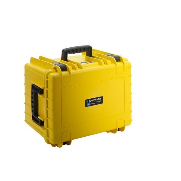 B&W Outdoor.cases Type 5500 geel / verdeler