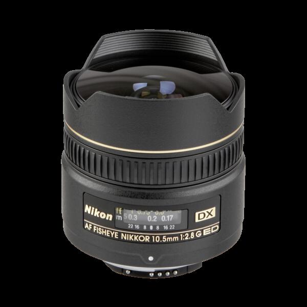 Nikon AF-DX 10.5MM/2.8 FISHEYE