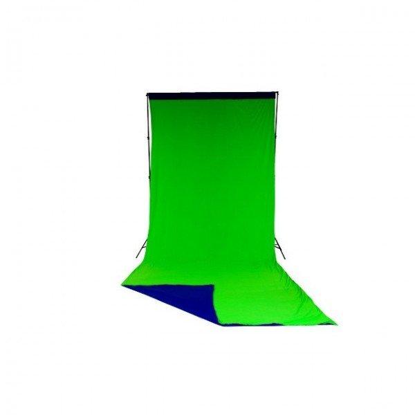 Lastolite Chromakey curtain 300x700cm blue/green reversible