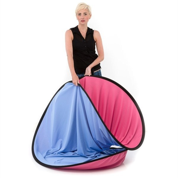 Lastolite Plain collapsible 180x215cm blue/pink