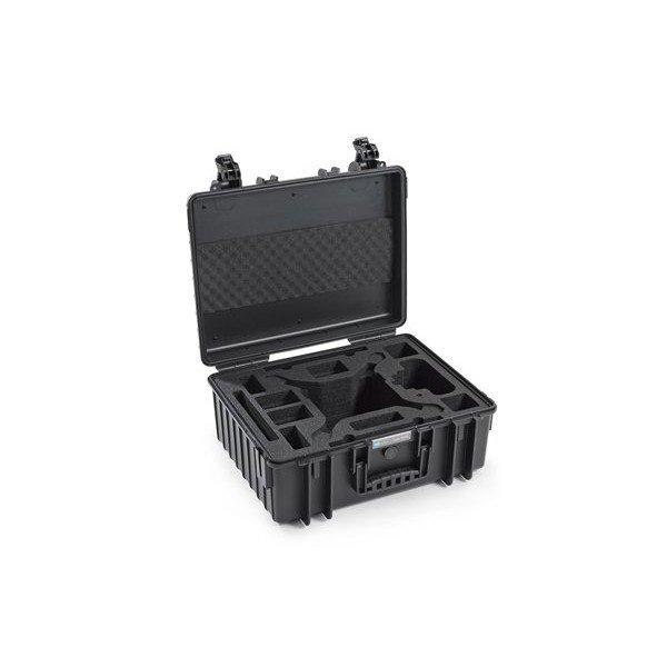 B&W Outdoor.cases Copter.case type 6000 zwart / hardfoam DJI Phantom 4