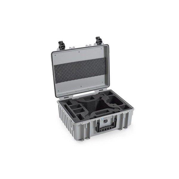 B&W Outdoor.cases Copter.case type 6000 grijs / hardfoam DJI Phantom 4