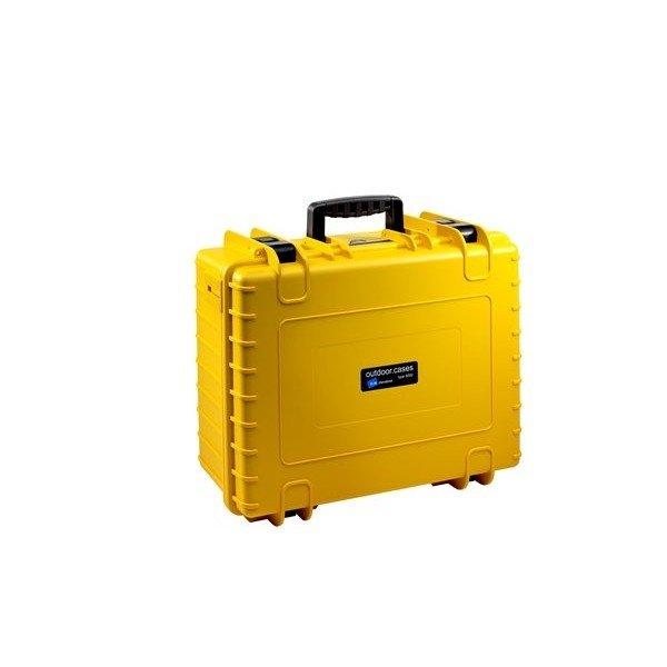 B&W Outdoor.cases Type 6000 geel/ verdeler