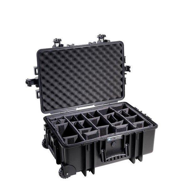 B&W Outdoor.cases Type 6700 zwart / verdeler