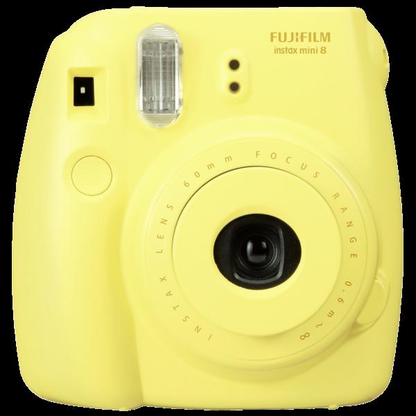 Fujifilm Instax Mini 8 geel direkt klaar camera